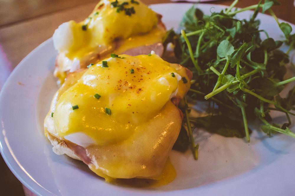 Eggs Benedict på Greasy Spoon, Tjärhovsgatan 19