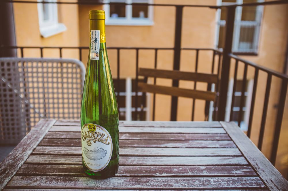 Txakoli - baskiskt, syrligt vin.