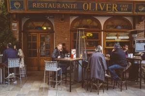 Restaurante Oliver i Granada.