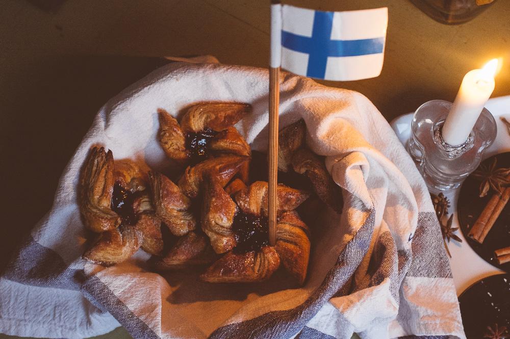 Finska julstjärnor (joulutorttu).