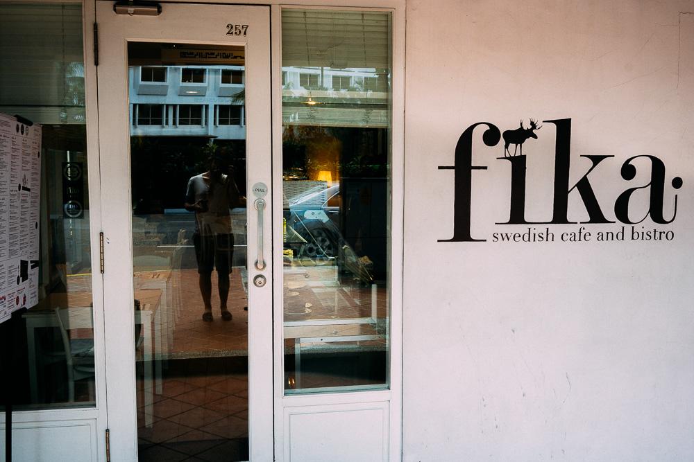 Fika – en svensk kedja i Singapore.