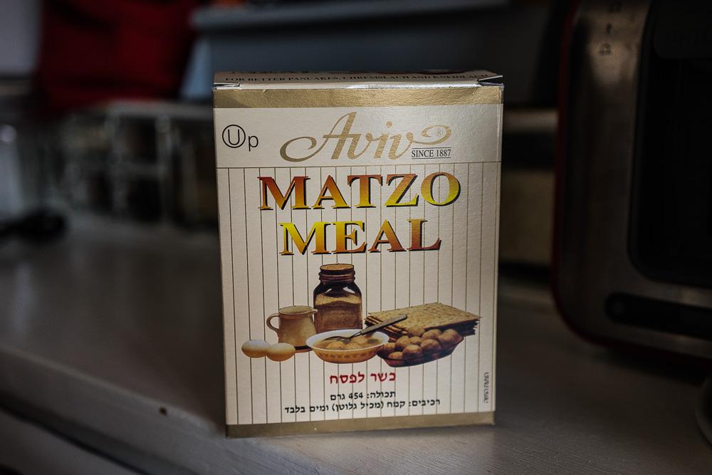 Matzamjöl. Utan detta mjöl – inga matzabollar.