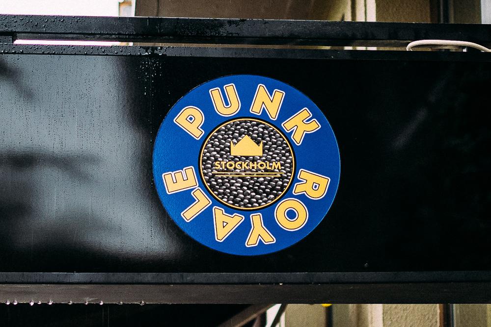 Punk Royale på Folkungagatan 128 på Södermalm i Stockholm.