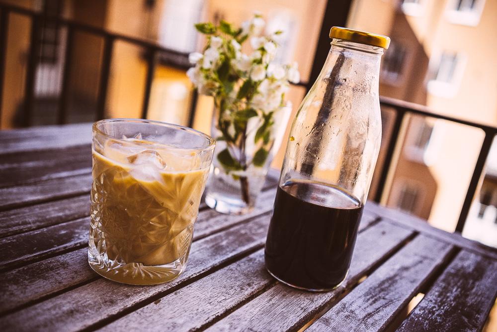 Kallbryggt kaffe – särskilt bra för iskaffe med mjölk.