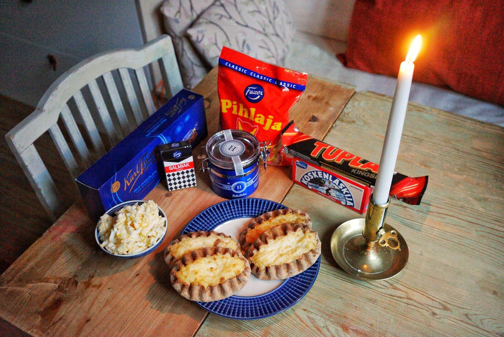 Typisk finsk frukost.
